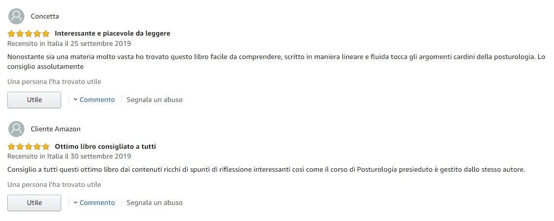 Tina Libro Posturologia feedback